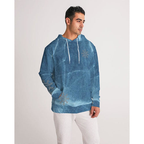 Men's cracks in the ice hoodie