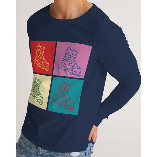 Inline Pop art skater long sleeve t-shirt