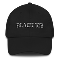 Black ICE 3-D Embroidered Ball Cap