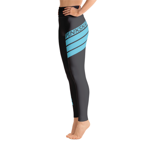Level Up Leggings Teal Accent