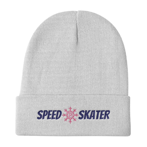 Speed Skater Cap White