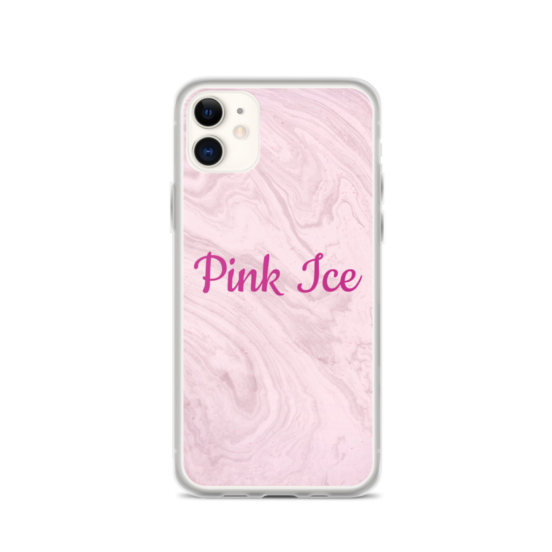 Pink Ice iPhone Case