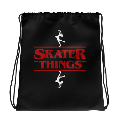 Skater Things Figure Drawstring