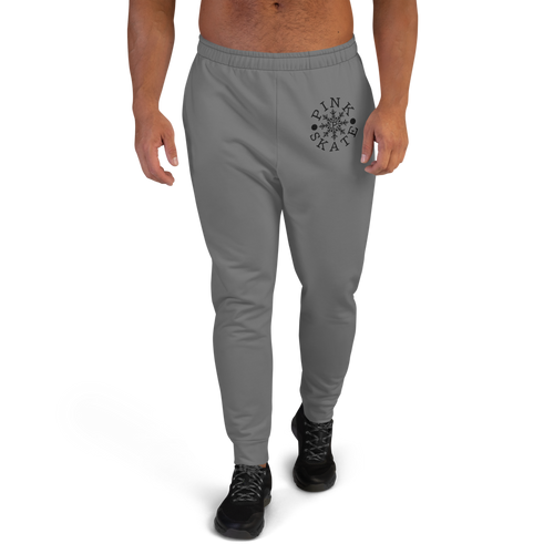 Men's Grey Logo Joggers