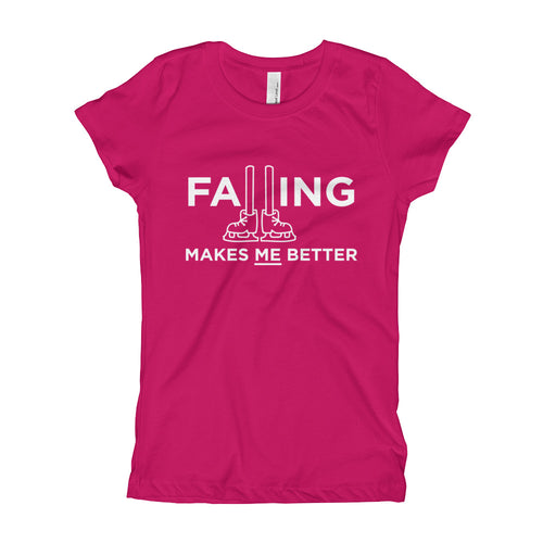 Falling Makes Me Better Figure Skating T-Shirt