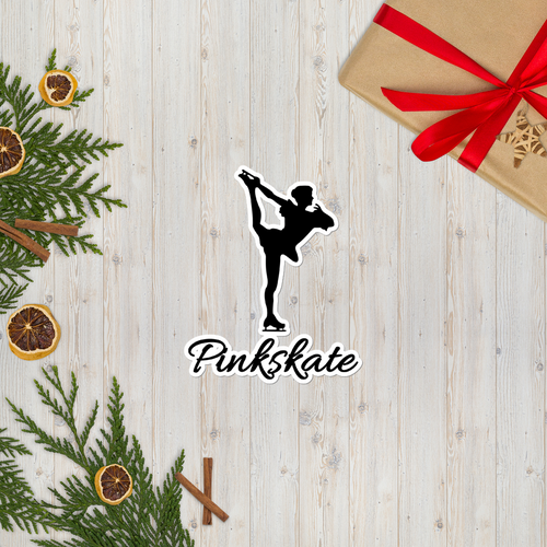 Pinkskate Figure Skater Stickers
