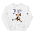 white sweatshirt figure skating logo