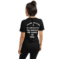 women's figure skating attitude t-shirt