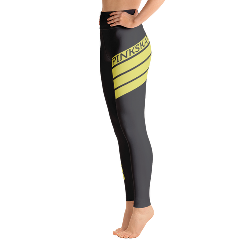 Level Up Leggings Yellow Accent