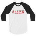 Skater Things Raglan Baseball Tee
