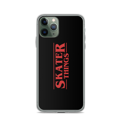 Skater Things Cell Phone Case