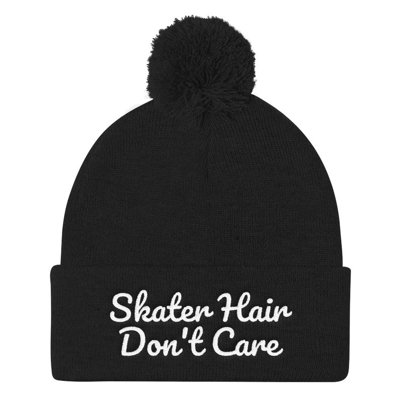 Skater Hair Don't Care Beanie