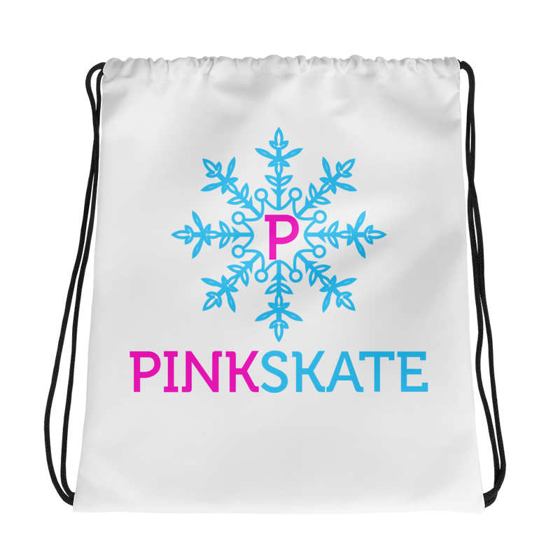 Pinkskate Drawstring bag