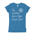 Never Melting Snowflake Figure Skating Tee