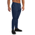 Men's Navy Blue Logo Joggers