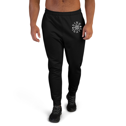Men's Black Logo Joggers