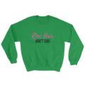 Ladies Rink Hair Sweatshirt