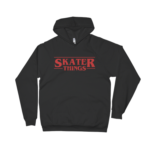 Skater Things Unisex Fleece Hoodie