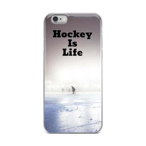 Hockey Is Life Phone Case