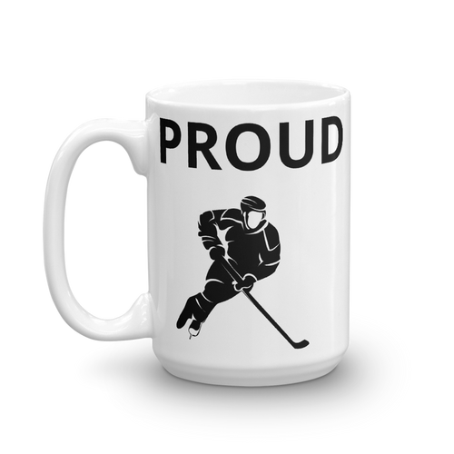 Proud Hockey Mom Coffee Mug