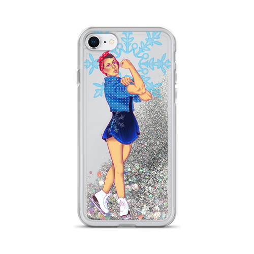 Rosie The Riveter Cell Phone Case