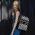The Checkered Backpack