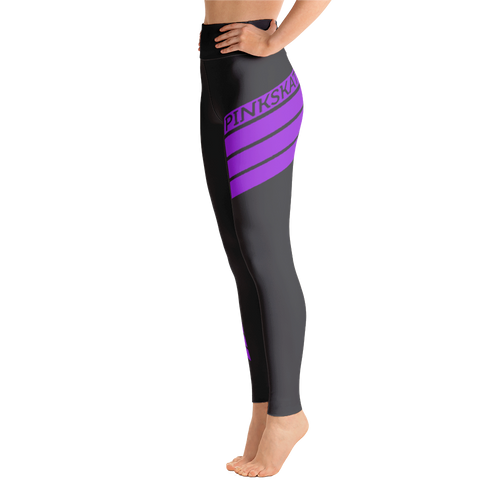 Level Up Leggings Purple Accent