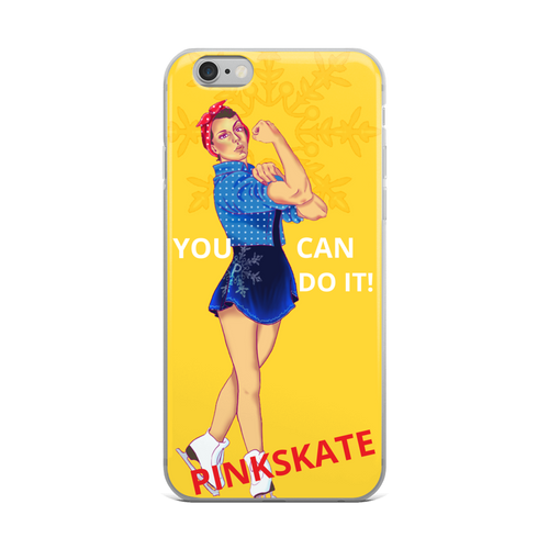Rosie The Riveter iPhone Case