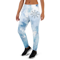Women's Blue Water Color Joggers