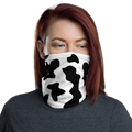 Cow pattern face cover