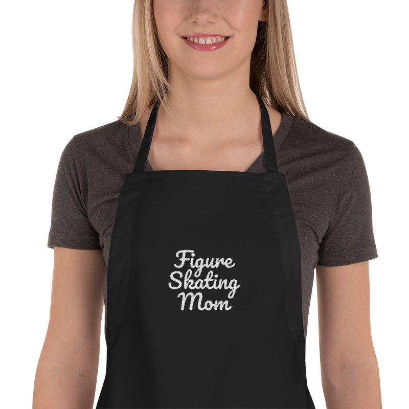Figure Skating Mom Apron