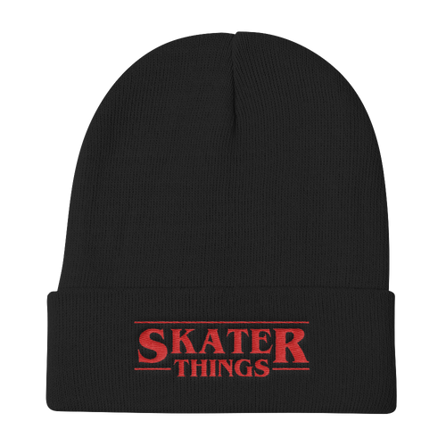 Skater Things Beanie Hat