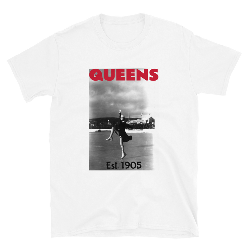 Figure Skating Queens Short Sleeve Tee