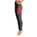 Level Up Leggings Red Accent