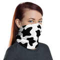 Cow Print Face Shield