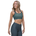 Fade To Green Sports Bra