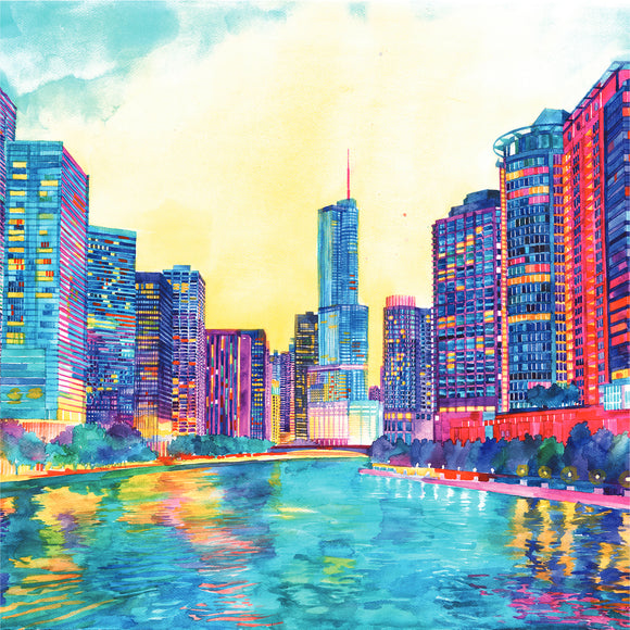 Maja Wronska - Chicago River