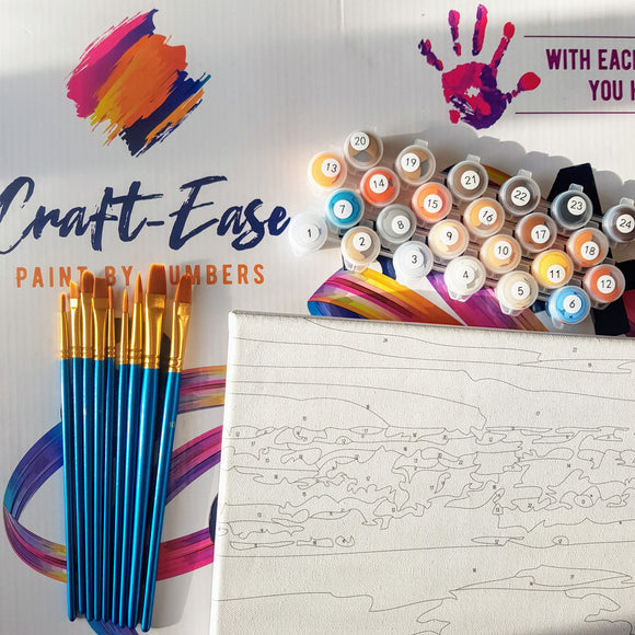 Craft-Ease Paint By Numbers
