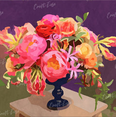 """Exotic Bouquet"" by Marla Gill"