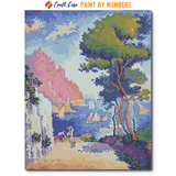 """Capo di Noli"" Paint By Numbers Craft-Ease™ - The Classics (50 x 40 cm)"