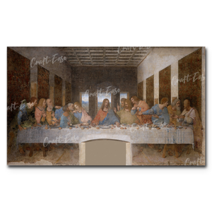 """The Last Supper"" Paint By Numbers Craft-Ease™ - The Classics (30 x 50 cm)"