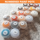 """Just Hanging Around"" - Craft-Ease™ Paint by Numbers"