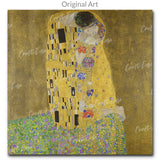 """The Kiss"" Craft-Ease™ Diamond Art Kit - The Classics (40 x 40 cm)"