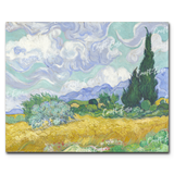 """Wheat Field with Cypresses"" Paint By Numbers Craft-Ease™ - The Classics (40 x 50 cm)"