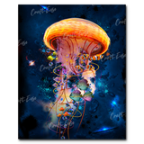 """Jellyfish Galaxy"" Paint By Numbers Craft-Ease™ - Exclusive Series (50 x 40 cm)"