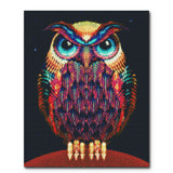 """Neon Owl"" Craft-Ease™ Diamond Art Kit - Exclusive Series (50 x 40 cm)"