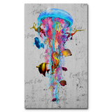 """New Jellyfish Concert"" Paint By Numbers Craft-Ease™ - Exclusive Series (50 x 30 cm)"