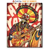 """The Dead Charmer"" Paint By Numbers Craft-Ease™ - Exclusive Series (50 x 40 cm) - Craft-Ease"