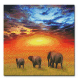 """The Future is Bright"" Craft-Ease™ Diamond Painting Kit - Exclusive Series (40 x 40 cm)"