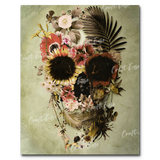 """Garden Skull"" Paint By Numbers Craft-Ease™ - Exclusive Series (50 x 40 cm)"
